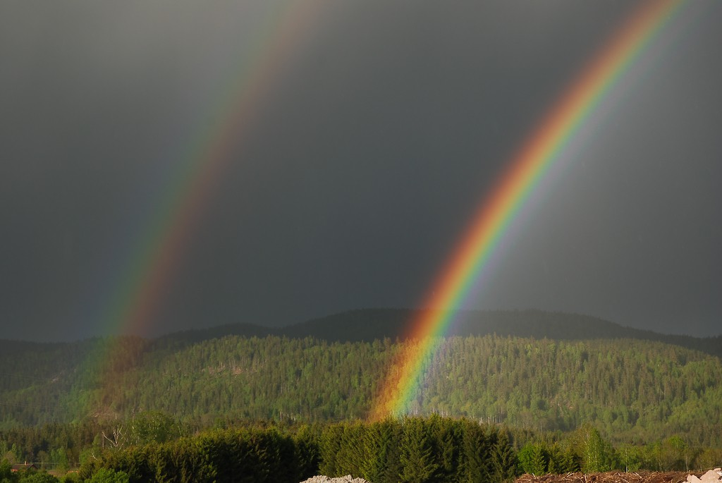 Dobbel regnbue
